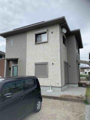 浜松市南区新橋町 Sさま邸 外壁塗装が完成しました。外壁塗装の事なら浜松塗装専門店|加藤塗装