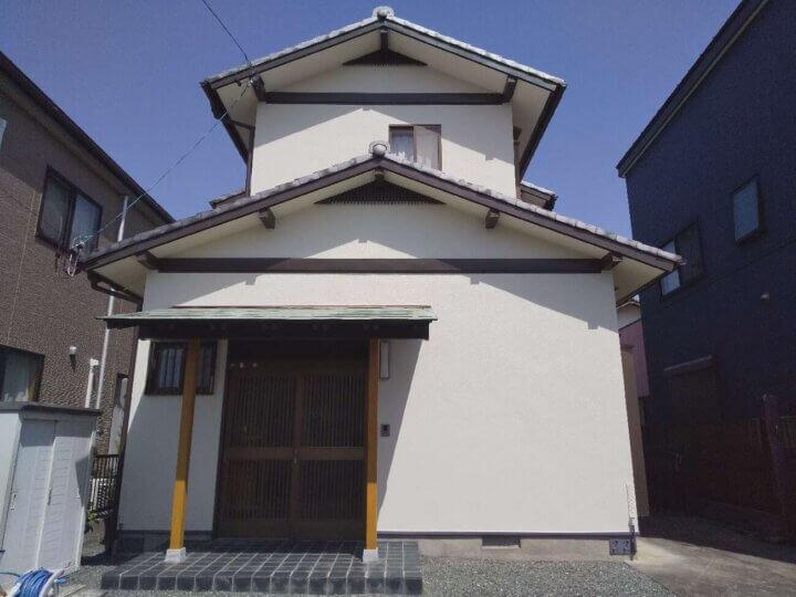 浜松市中区領家 Sさま邸 外壁塗装が完成しました。外壁塗装の事なら浜松塗装専門店|加藤塗装
