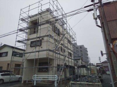 梅雨入り2021 令和3年 外壁塗装の事なら浜松塗装専門店 加藤塗装 足場架設できる