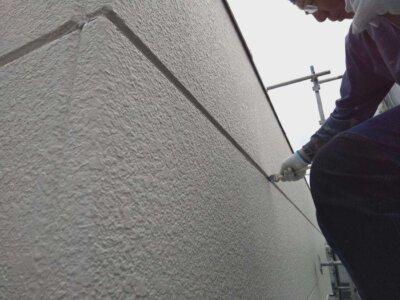 ALC外壁シーリング改修 外壁塗装の事なら浜松塗装専門店|加藤塗装 増し打ち 龍禅寺 施工事例