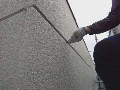 ALC外壁シーリング改修 外壁塗装の事なら浜松塗装専門店|加藤塗装 増し打ち 龍禅寺 施工事例 変成シリコン オートンイクシード