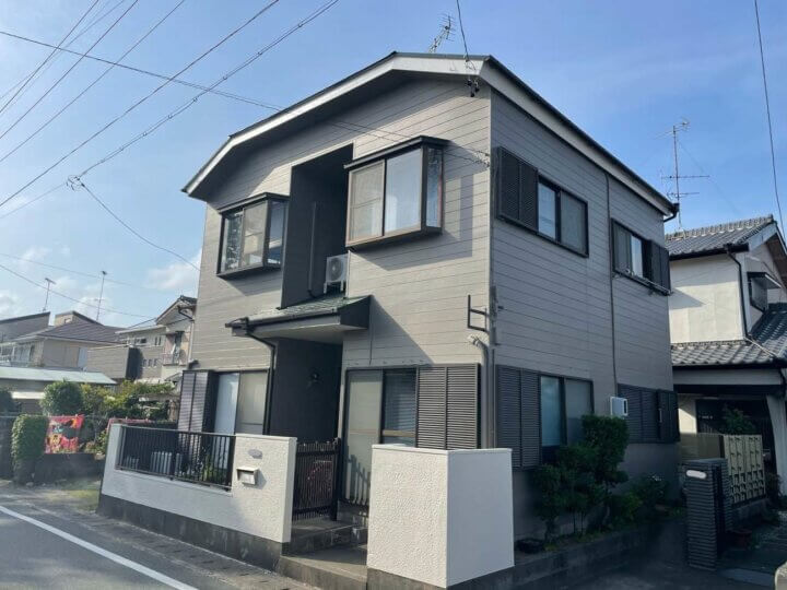 浜松市西区舞阪町 弁天島 Tさま邸 屋根・外壁塗装が完成しました。外壁塗装の事なら浜松塗装専門店|加藤塗装
