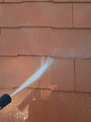 アステックペイント スーパーシャネツサーモsi カラーベスト スレート屋根 コロニアル 外壁塗装の事なら浜松塗装専門店|加藤塗装 雨樋に落ち葉が詰まる 雨が流れない 高圧洗浄 キャンペーン中
