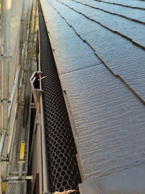 落ち葉避けネット取付 施工事例 外壁塗装の事なら浜松塗装専門店|加藤塗装
