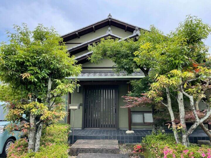 浜松市東区白鳥町 Sさま邸 外壁塗装工事が完成しました。外壁塗装の事なら浜松塗装専門店|加藤塗装
