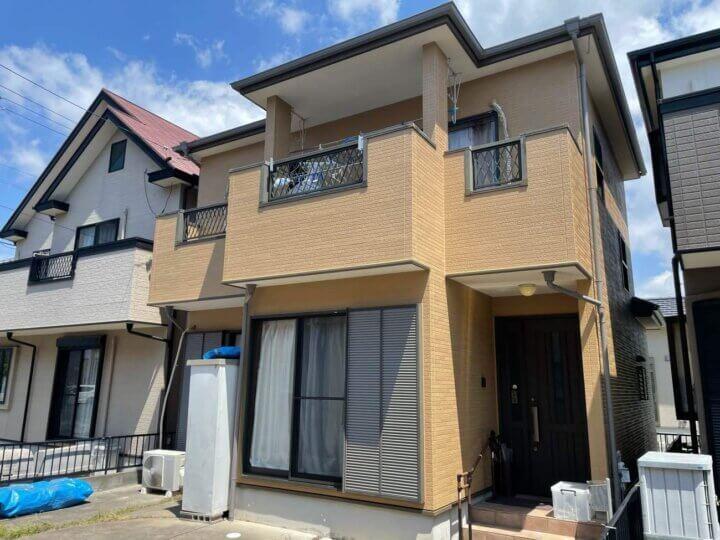 浜松市中区領家 Aさま邸 外壁塗装が完成しました。外壁塗装の事なら浜松塗装専門店|加藤塗装