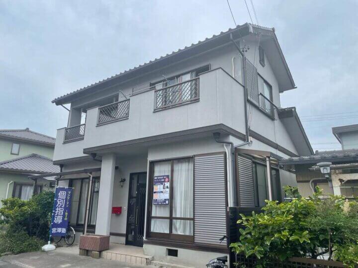 浜松市南区新橋町 Mさま邸 外壁塗装が完成しました。外壁塗装の事なら浜松塗装専門店|加藤塗装