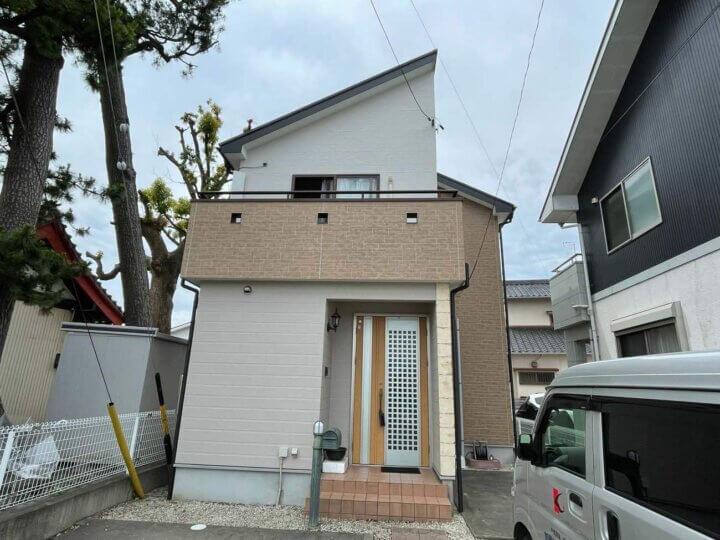 浜松市南区渡瀬町Tさま屋根外壁塗装