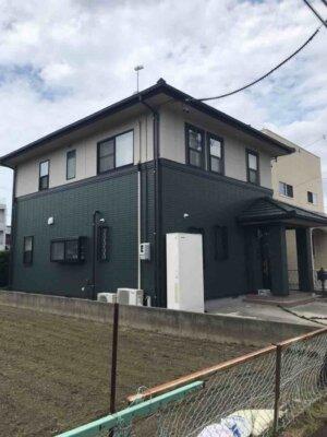 浜松市東区上西町 Sさま邸 屋根・外壁塗装が完成しました。