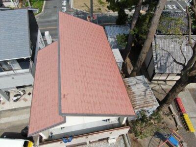 アステックペイント スーパーシャネツサーモsi カラーベスト スレート屋根 コロニアル 外壁塗装の事なら浜松塗装専門店|加藤塗装
