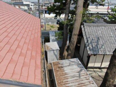 アステックペイント スーパーシャネツサーモsi カラーベスト スレート屋根 コロニアル 外壁塗装の事なら浜松塗装専門店|加藤塗装 雨樋に落ち葉が詰まる 雨が流れない