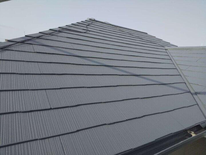 屋根塗装 工事 完成