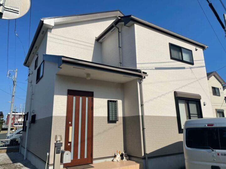 浜松市南区若林町 Fさま邸 屋根・外壁塗装が完成しました。外壁塗装の事なら浜松塗装専門店|加藤塗装