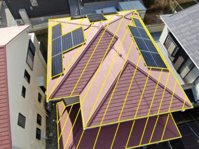taiyoukou太陽光パネル ソーラパネル 屋根塗装 設置 撤去 一旦外す 別途費用 どのくらいかかる お金 高い やらない方がいい 外壁塗装の事なら浜松塗装専門店 加藤塗装 別途費用が掛かる