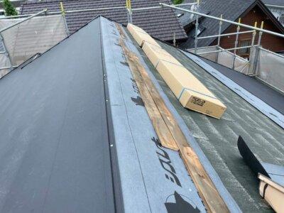 MFシルキー 屋根カバー工法 断熱 遮熱 ガルバリウム鋼板 硬質ウレタン 一体型 費用 外壁塗装の事なら浜松塗装専門店|加藤塗装