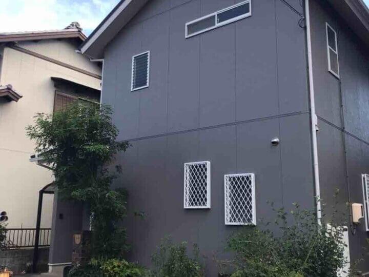 浜松市中区高丘西Kさま屋根カバー工法外壁塗装
