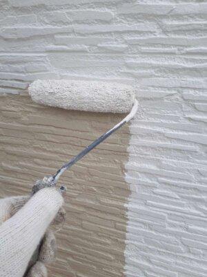 水性ミラクシーラーエコ 下塗り塗装 接着 密着 下地色消し 外壁塗装の事なら浜松塗装専門店 加藤塗装 水性セラミシリコン