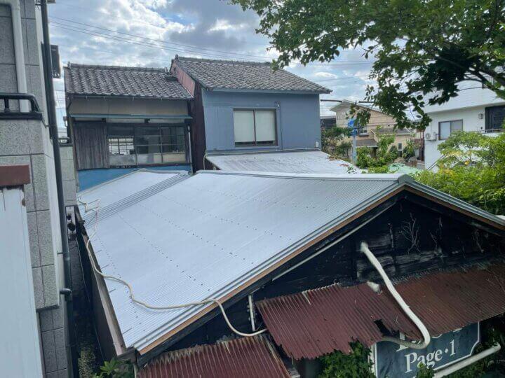屋根改修工事完成