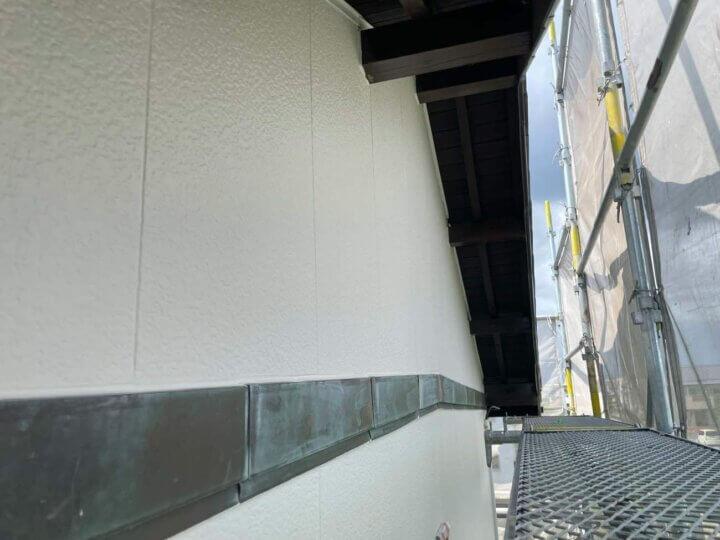 外壁塗装工事完成