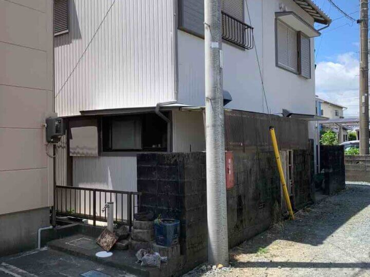 浜松市中区小豆餅Uさま外壁塗装