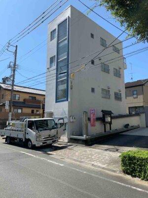 浜松市中区紺屋町Wさまビル外壁塗装